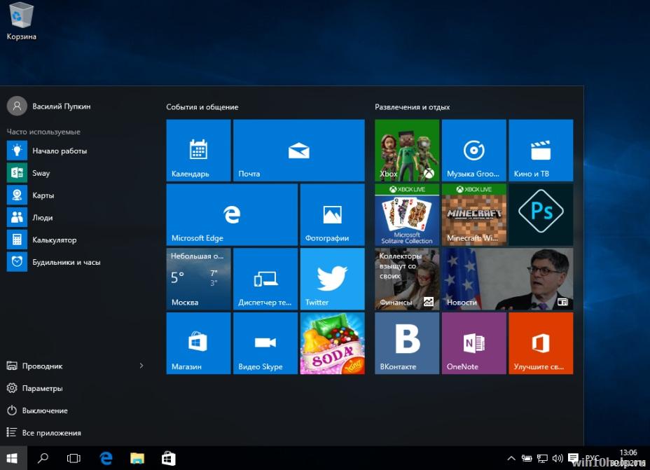 Как установить чистую Windows 10 с флешки