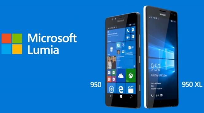 Lumia 950-950 XL